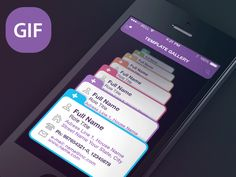 Designer Screen GIF-Animation by Sergey Valiukh for Tubik Studio