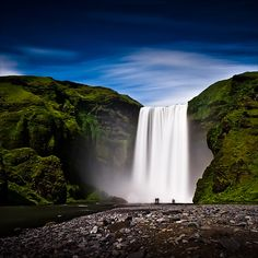 Skógafoss by Heida HB, via Flickr
