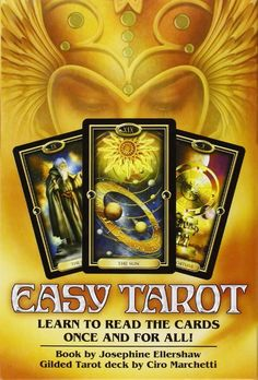 EBook Easy Tarot: Learn to Read the Cards Once and For All! Author Josephine Ellershaw and Ciro Marchetti Best Tarot Decks, Tarot Card Decks, Free Pdf Books, Free Ebooks, Tarot Cards For Beginners, Stefan Zweig, Tarot Learning, Tarot Readers, Oracle Cards
