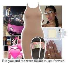 """""""My b**** is bad and boujee"""" by baby-wavy ❤ liked on Polyvore featuring Gucci and jaylaslitmembers"""