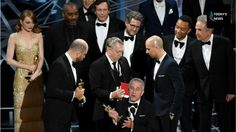 NO ACTING Incredible moment stars gape inOscars blunder sees LaLaLand aw...