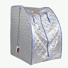 This is a FIR (Far Infrared) Portable Sauna.  I own one and use it to detoxify my body.  It folds up under the bed or in my closet.