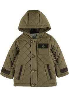 efd9587052eda Boys Quilted Coat (6mths-5yrs) - Matalan