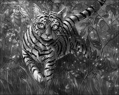 Tiger Cat - Laura Diehl