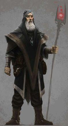 Archmage Robe (Elder Scrolls, Skyrim) by Ray Lederer