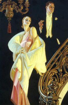 1920s Arrow ad. J. C Leyendecker | Vintage Ads