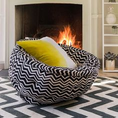 Zig Zag Cocoon Chair