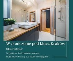 Wykończenie mieszkania pod klucz Kraków. Kompleksowy projekt wnętrz. Zobacz nasze indywidualne pakiety wykończeniowe - standardy wykończenia wnętrz. Vanity, Bathroom, Products, Dressing Tables, Washroom, Powder Room, Vanity Set, Full Bath, Single Vanities