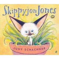 Skippyjon Jones Series by Judith Schachner, these are great books that I will read to m my kids