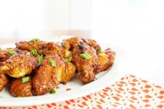 Chicken Wings With Sweet Chili Sauce // Trader Joe's recipe