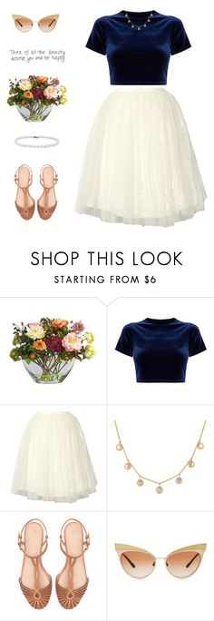 """Shauna"" by brie-the-pixie ❤ liked on Polyvore featuring Nearly Natural, Alice + Olivia, Zara, Dolce&Gabbana, Blue Nile, contestentry and polyPresents"