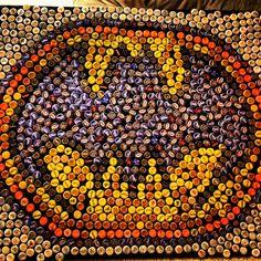 Batman bottlecap art