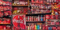 Collage of Coca Cola Vintage Collection - Pixdaus