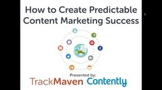 [WEBINAR] How to Create Predictable Content Marketing Success