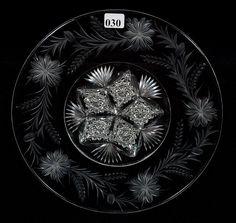"Tuthill, _____, American brilliant cut glass, 10"", 15-2h."