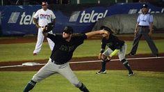 BEISBOL CAMPECHANO: * Luce brazo de Sneed en victoria de Leones de Yucatan sobre los Piratas de Campeche 3 a 0