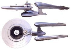 Star Trek NCC-1701 turntable model, one of a kind. Set nerd factor to warp speed.