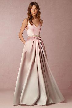 Anthropologie x BHLDN Lorraine Wedding Guest Dress