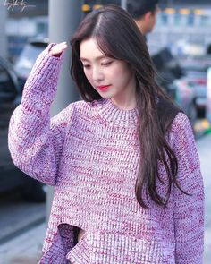 Beautiful Girl like Fashition Irene Red Velvet, Red Velet, Velvet Fashion, Kpop Fashion, Airport Fashion, Asian Fashion, Soyeon, Airport Style, Incheon