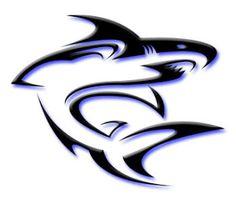 tribal shark tattoo designs   mytattoos: Tribal shark tattoo art design for body