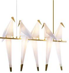 Ptaki - żyrandol Chandelier, Ceiling Lights, Led, Lighting, Retro, Home Decor, Candelabra, Decoration Home, Room Decor
