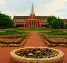 oklahoma state university campus pictures | Edmond Low library, Oklahoma State University | Flickr - Photo Sharing ...