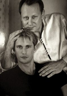 Alexander and Stellan Skarsgard. Father and Son....wifey!! mind blown~ I never knew!
