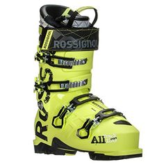 Rossignol Alltrack Pro 130 WTR Ski Boot Mens Yellow 285 ** Learn more by visiting the image link. (This is an affiliate link) Ski Ski, Ski Equipment, Ski Boots, Golf Bags, Skiing, Image Link, Amazon, Yellow, Check