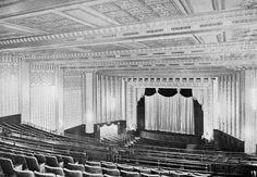 Cine Metro de São Paulo. Construído em 1934 pela MGM.