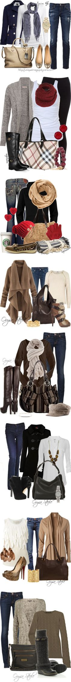 """Winter time"" Looks perfectos para este otoño"
