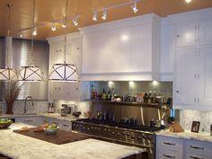 P.M. Services - Antique White Painted Kitchen