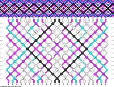 24 strings 14 rows 8 colors