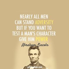 Abraham Lincoln, inspiration, quotes