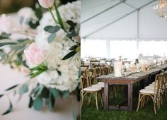 Luxury Table Centerpieces for a Gold and Pink Elegant Garden Wedding