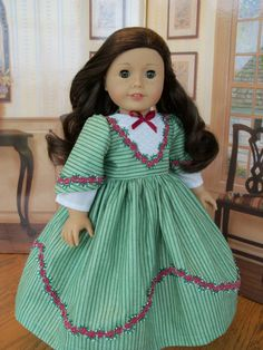 Special Occasion  Gown for Cecile or Marie-Grace/ Clothes for American Girl Dolls