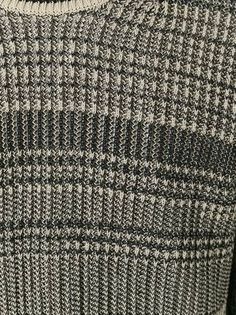 Maison Margiela striped knitted jumper