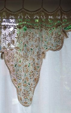 Alfombras y cortinas hippies on pinterest patchwork - Cortinas hechas en casa ...