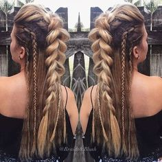 Image result for viking hair men braid