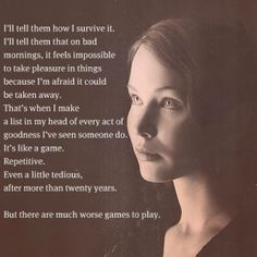 Mockingjay quote. One of my favorites. by elsa