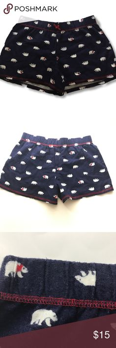 Tommy Hilfiger pilot bear sleep shorts NWOT size xs fleece sleep shorts     FYI 📌📌📌📌📌 Things to keep in mind when shopping my closet  ✔️  all item come from a smoke free pet free clean home ✔️ all items shipped same day or next day unless its Friday orders will go out Monday  ✔️ open to offers I do not use the private offer system  ✔️ discounts on bundles  ✔️posh ambassador Tommy Hilfiger Shorts
