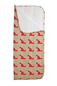 Fox Print Sleeping Bag - Urban Outfitters