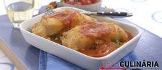Receita de Bacalhau frito com molho de tomate. Descubra como cozinhar Bacalhau…