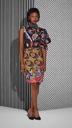 CHIC AND UNIQUE ~African fashion, Ankara, kitenge, African women dresses, African prints, African men's fashion, Nigerian style, Ghanaian fashion ~DKK