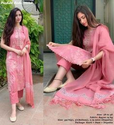 Salwar suit salwar kameez readymade designer salwar suits for women women suit with plazo Simple Kurti Designs, Stylish Dress Designs, Kurta Designs Women, Designs For Dresses, Stylish Dresses, Simple Dresses, Salwar Designs, Designs Of Suits, Formal Dresses