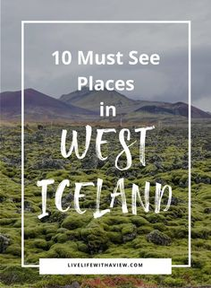 must see places in Iceland