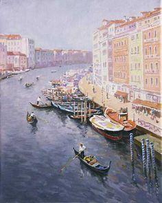 Stanislav Fomenok - Am Morgen Venedig