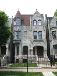 The house of sista-warrior Ida B. Wells-Barnett also contributes to the Black Metropolis-Bronzeville District.