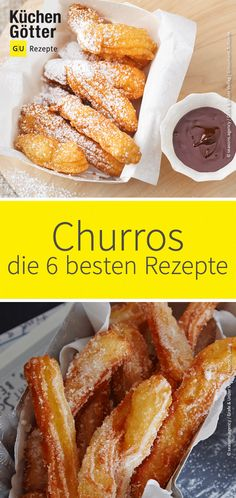 Make churros yourself: 6 recipes for Spanish delicacies - We& show you how to make your own Spanish pastries at home. The best 6 recipes can - French Toast Sticks, French Toast Bake, French Toast Casserole, Toast Pizza, Cinnamon French Toast, Blueberry French Toast, Breakfast Toast, Breakfast Recipes, Banana Breakfast