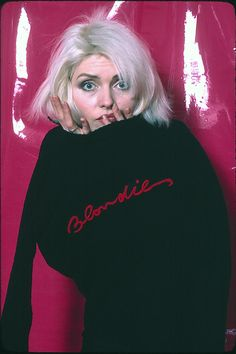 One way or another, you will love Blondie's first photoshoot