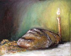 """Arta Profetica """"Painea noastra cea de toate zilele"""" (Matei 6:11) Prophetic Art  """"Our daily bread""""  (Matthew 6:11)"""